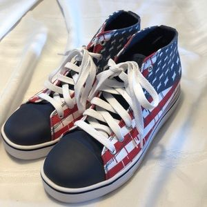 HEELYS Patriotic roller tennis shoes size 7 Mens